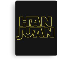 HAN JUAN Canvas Print