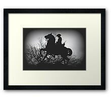 Australian Light- Horsemen Framed Print
