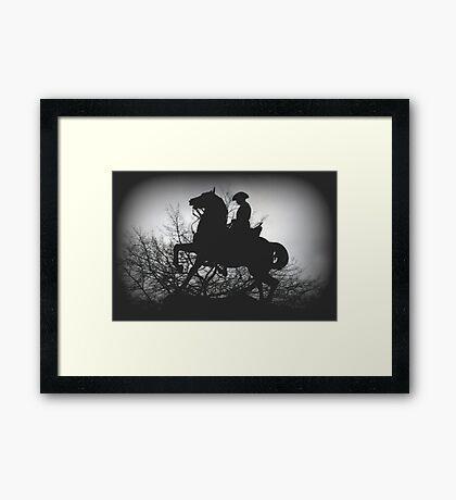 Australian Light- Horsemen Framed Print