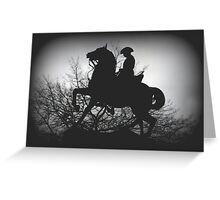 Australian Light- Horsemen Greeting Card