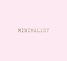 Pink and Copper Minimalist Typewriter Font by itsjensworld