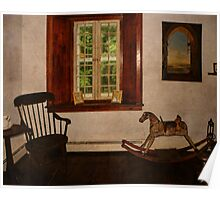 Gomez Mill House Commode Corner Poster