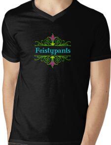 Feistypants Mens V-Neck T-Shirt