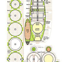 Space ship schematics   by Radwulf