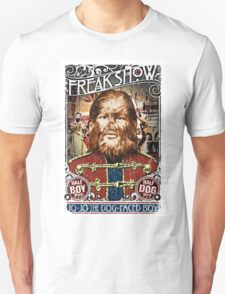 Jo Jo the dog face boy. Freakshow. Freak show. Side show. Carnival. Circus. T-Shirt