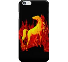 Stallion of the Inferno iPhone Case/Skin