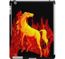 Stallion of the Inferno iPad Case/Skin