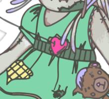 Voodoo Girl Sticker