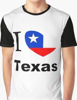 I Love Texas Graphic T-Shirt