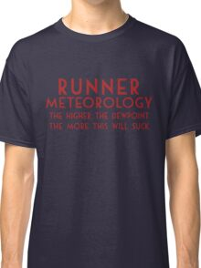 Runner Meteorology Classic T-Shirt