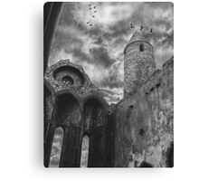 Áillidh-The Rock of Cashel Ireland by Gary Rudisill Canvas Print