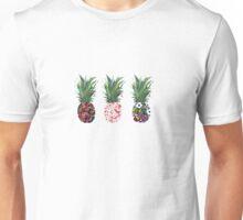 Colourfull Pineapples  Unisex T-Shirt
