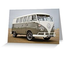 Vw Beach Bus Greeting Card