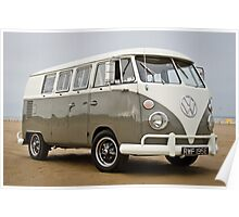 Vw Beach Bus Poster