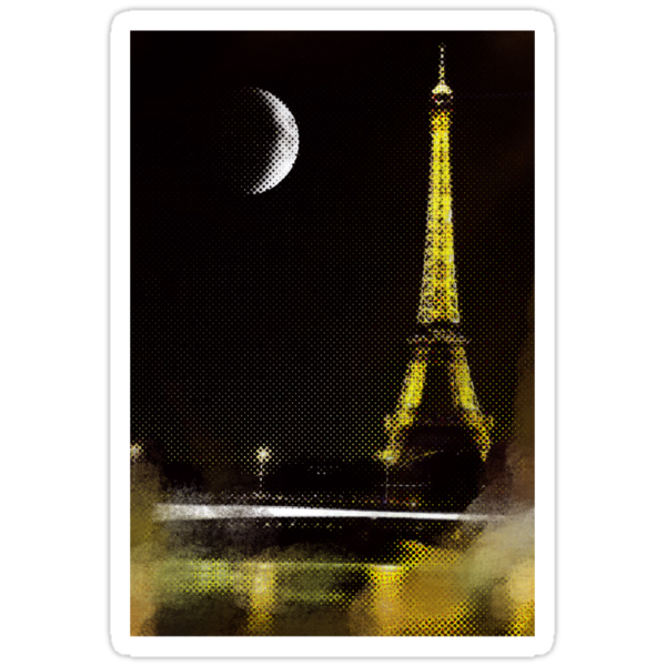 Paris Moon by angeliana