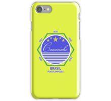 Brasil Canarinho iPhone Case/Skin