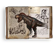 Ark T-Rex Canvas Print