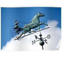 Riding through the clouds, Goshen New York  Poster