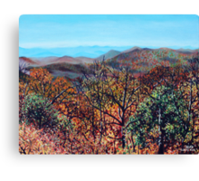 'THE VIEW FROM CANYONS RESTAURANT'  Canvas Print