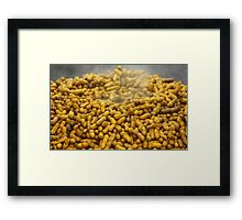 Boiled Peanuts Framed Print