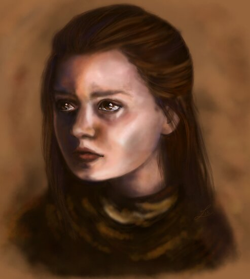 Arya Stark by LauraMSS