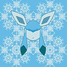 Glaceon in snow by lomm
