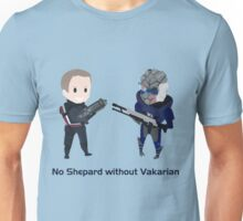 No male!Shep without Vakarian  Unisex T-Shirt