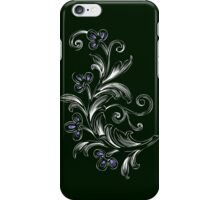 Floral Sketch iPhone Case/Skin