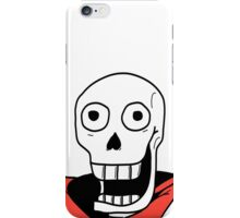 Undertale - Papyrus Stupid Face iPhone Case/Skin