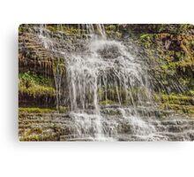 Cramell Lin waterfall Near Gilsland Spar Canvas Print