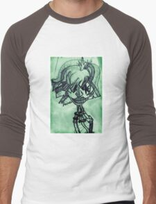 Lomo Cyborg Men's Baseball ¾ T-Shirt