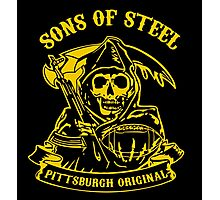 Son Of Steels Pittsburgh Steelers Photographic Print