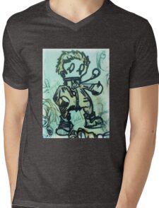 Lomo Boxer Mens V-Neck T-Shirt