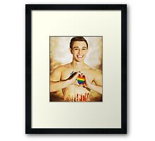 Love is Alive Framed Print