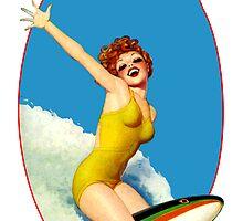 Vintage Surfer by sashakeen