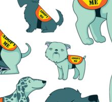 Adopt a Dog Sticker