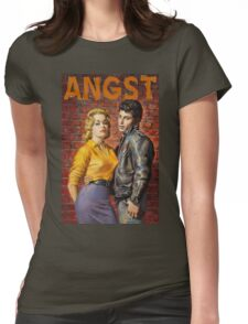 Angst Womens Fitted T-Shirt