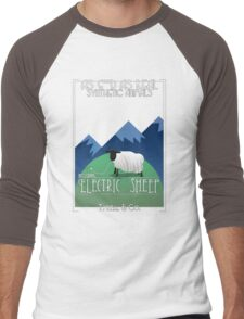 Electric Sheep Men's Baseball ¾ T-Shirt