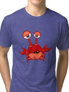 Cartoon crab Tri-blend T-Shirt