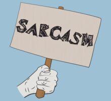 Sarcasm Sign Kids Tee