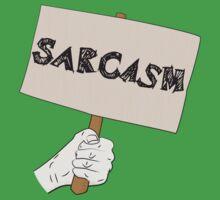 Sarcasm Sign One Piece - Short Sleeve