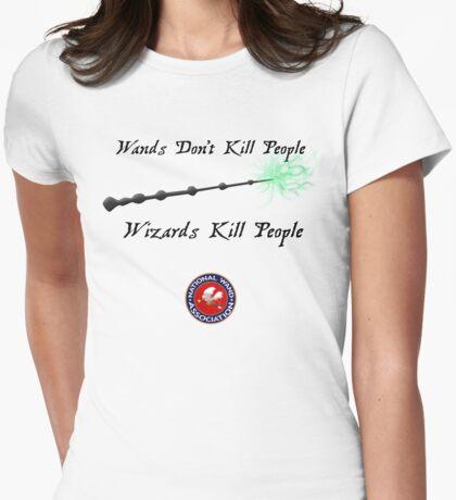 National Wand Association Womens Fitted T-Shirt