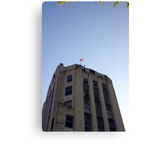 News Tower Canvas Print