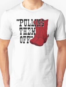 Pulling Them Off Unisex T-Shirt