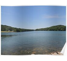 Tranquil Moment at Leesville Lake Poster