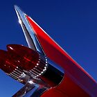 Red Cadillac Fin by wayneyoungphoto