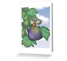 The Fig Wasp Ramble  Greeting Card