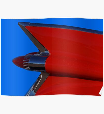 Red Cadillac Fin II Poster