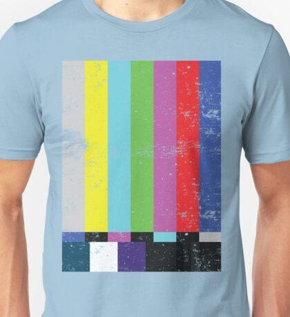 TV test Lines  Unisex T-Shirt