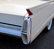 White Cadillac Fin by wayneyoungphoto